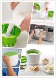 Nahrungsmittelgrad-Kunststoff-selbst gemachte Frischkäse-Hersteller-Filterglocke