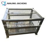 Faltbare Speicherrasterfeld-Metallschweißungs-Draht-Rahmen-Ladeplatte