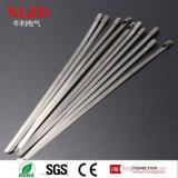 Vrije steekproeven Naakte Ss 306 Ss 314 de kabelbanden van pitbanden met de Certificatie van Ce RoHS