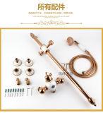 Jeu en laiton simple en céramique Bleu-et-Blanc chinois de douche de pluie du traitement Zf-609 de modèle neuf
