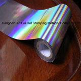 Lámina para gofrar caliente del laser de la hoja del holograma para