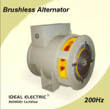 200Hz 8 pólos 3000rpm 40kw IP23 Brushless Synclonous Generator ISO9001 Certified