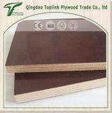 El encofrado concreto /Film hizo frente a la madera contrachapada para la construcción