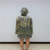 인쇄를 가진 EVA 투명한 비옷