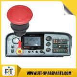 Первоначально насос Zoomlion установленный трейлером конкретный разделяет кнопку аварийного стопа