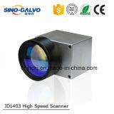 Varredor de alta velocidade Jd1403 do Galvo do sistema laser do Galvo com Ce