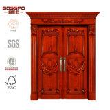 별장 정면 등록 문 입구 나무로 되는 문 (GSP1-004)
