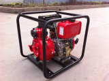 Motor diesel de la bomba de agua portátil