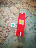 Продавать водоустойчивые обломоки удостоверения личности браслета Wristbands силикона таможни RFID