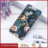 Caso de telefone feito à medida, padrão floral luminoso, capas de telefone celular TPU