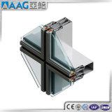Système en aluminium de mur rideau de bâti d'Alumiunm de bonne qualité