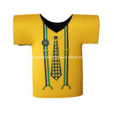 カスタムブランドのネオプレンのTシャツの様式によって絶縁されるジャージーのクーラー袋(SNCC62)
