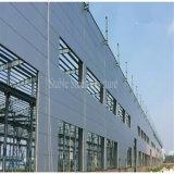 Construction de structure de bâti en acier de lumière de grande envergure