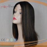 Beste verkaufende elegantes langes Perücke-Haar-Art-Menschenhaar jüdische Sheitel Perücken 100%