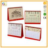 Calendario su ordinazione del commercio all'ingrosso di stampa in offset di alta qualità