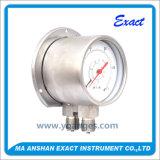 高品質圧力正確に測差動圧力正確に測二重Bourdonの圧力計