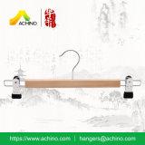 Ganci di legno del pannello esterno & della mutanda con le clip (WPSH102)