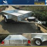 6X4 7X4 7X5 8X5 8X4 de Gegalvaniseerde Aanhangwagen van de Doos met Schuine stand