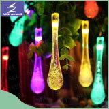 Lumière solaire de chaîne de caractères de Noël de DEL pour la décoration extérieure