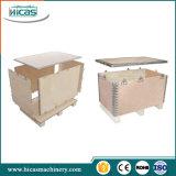 Faltbare Furnierholz-Kasten-maschinelle Herstellung-Hochgeschwindigkeitszeile