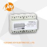 Medidor da energia eletrônica do contador do registo da fase monofásica do Ruído-Trilho