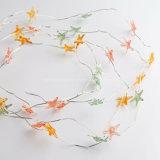 La chaîne de caractères étoilée allume les lumières micro d'étoiles de mer de câblage cuivre pour la décoration de maison de réservoir de poissons