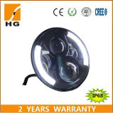 Linterna del LED del PUNTO caliente 7 de la venta '' con DRL 7inch redondo para la linterna del jeep LED