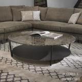 공장 직매 현대 대리석 최고 라운드 탁자 (NK-CTA011)