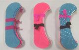 Chaussettes invisibles belles de coton de doublure de chaussettes de Madame et de fille de mode