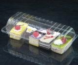 La tapa de plástico que forma la máquina automática de embalaje de las frutas