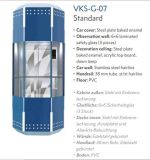 Volkslift Diamond Car Sightseeing Elevator with Glass Cabin Wall