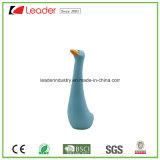 Figurine decorativo de pato cerâmico novo para decoração de jardim