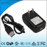 CCC와 CQC 증명서를 가진 6V 1A USB 충전기