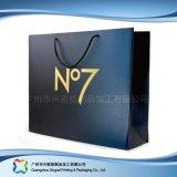 Напечатанный мешок несущей бумаги упаковывая для одежд подарка покупкы (XC-bgg-025)