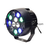 Iluminación LED PAR luz 12PCS 1W PAR luz RGBW Home Party Disco