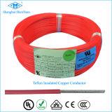 Cable eléctrico de cable de compensación resistente a la calefacción eléctrica de PTFE
