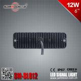 6 indicatore luminoso di segnale istantaneo di pollice 12W LED