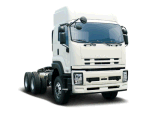 De nieuwe 6X4 Vrachtwagen die van de Aanhangwagen Isuzu 80 Ton trekken