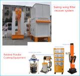 Cabine automática e do robô do pó do ciclone