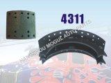 Langer Lebenszeit-Bremsbelag für Hochleistungs-LKW (4311)