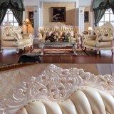居間の家具/木製のソファー(D512A)のための革ソファー