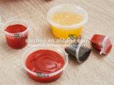 copo plástico descartável do molho da injeção 4oz rachada