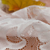 Merletto dei capelli di cerimonia nuziale del merletto della biancheria intima delle donne del testo fisso del merletto del vestito da cerimonia nuziale dei bambini