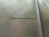 Cuir synthétique personnalisé de sofa de chaussure de sac à main de PVC d'unité centrale de Rexine de couleur