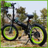 250W Brushless motorizado pequeño plegable grasa neumático bicicleta eléctrica