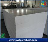 Placa branca do PVC Celuka da neve 1~40mm para gabinetes