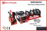 Máquina Shd160/63 da solda por fusão da extremidade da tubulação do HDPE