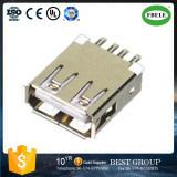 Los fabricantes dirigen el conector femenino largo del USB de 13 pies