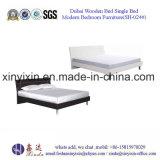 Einzelnes hölzernes Bett in den Dubai-Hotel-Schlafzimmer-Möbeln (B-024#)
