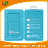 Encargo de cartón de papel PVC caja de embalaje con ventana de PVC